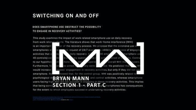 Bryan Mann - Section 1 - Part C