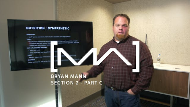 Bryan Mann - Section 2 - Part C