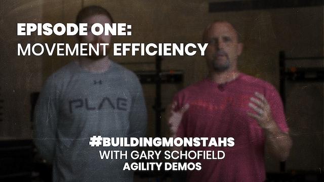 Gary Schofield Agility Demos - Episode 1 - Movement Efficiency