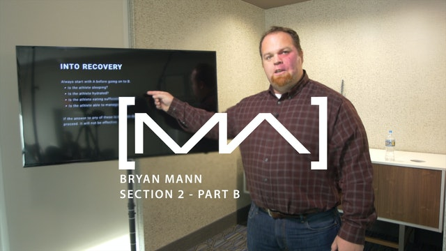 Bryan Mann - Section 2 - Part B