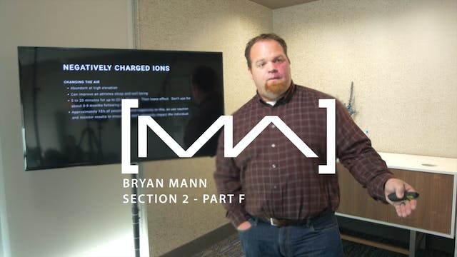 Bryan Mann - Section 2 - Part F