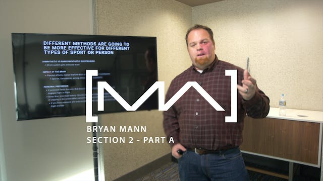 Bryan Mann - Section 2 - Part A