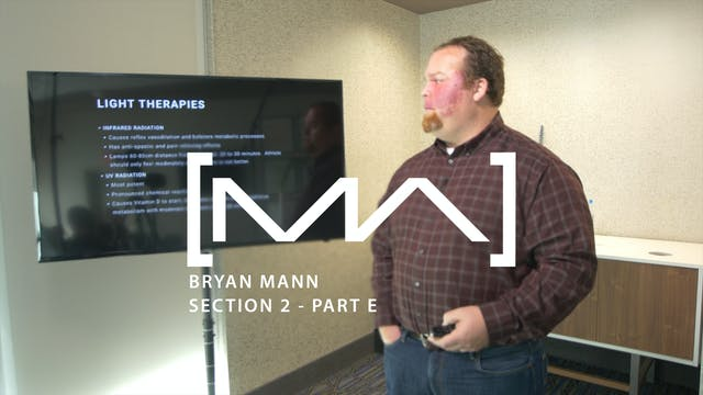 Bryan Mann - Section 2 - Part E