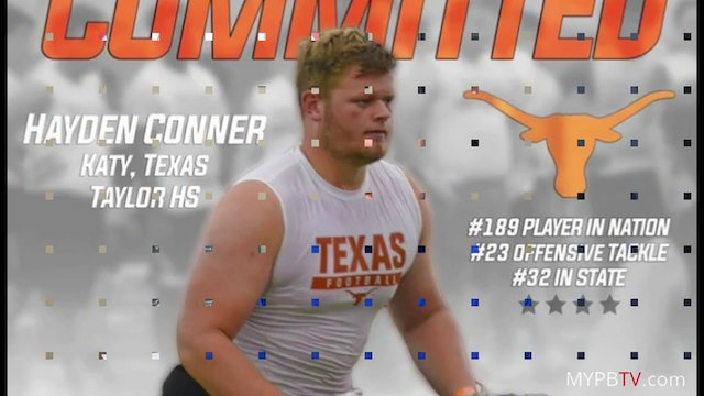 HAYDEN CONNER: Committed To Texas