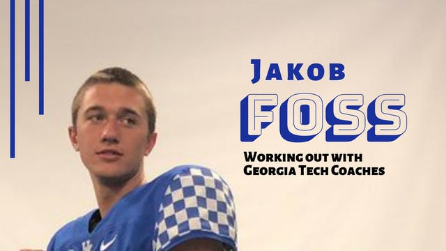 ELITE TALENT - QB Jakob Foss Works Ou...