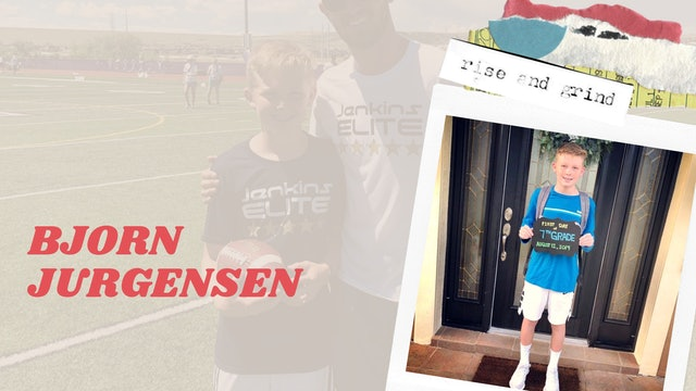 Bjorn Jurgensen: GRIND TO WIN A CHAMPIONSHIP