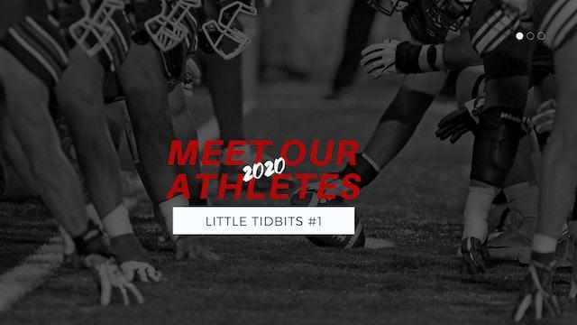 Little Tidbits: 2020 Athletes