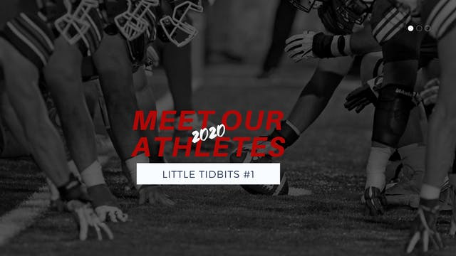 Little Tidbits: 2020 Athletes