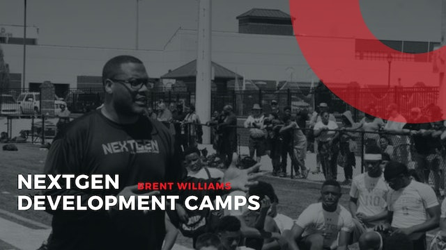 BRENT WILLIAMS FOUNDER of NEXTGEN  All America Camp