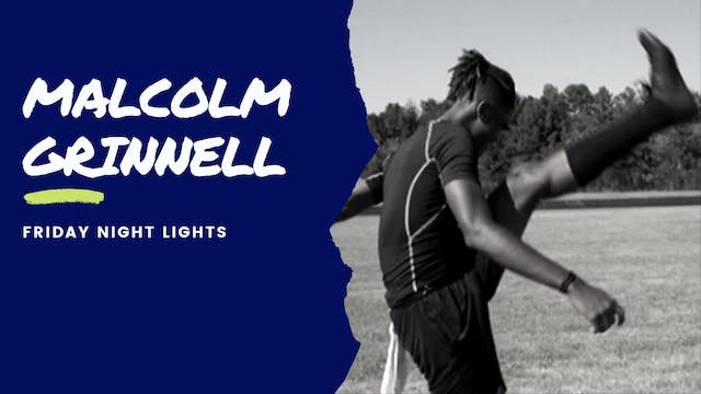 Malcolm Grinnell: FRIDAY NIGHT LIGHTS