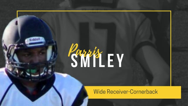 2022 Parris Smiley: WANTS TO GIVE BACK