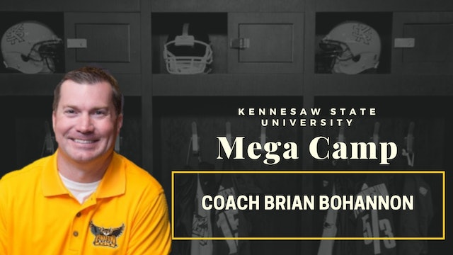 Kennesaw State Head Coach Brian Bohannon / Impressed With College Coaches