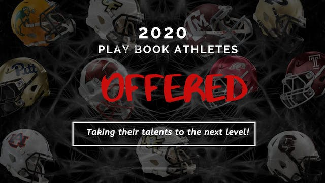 OFFERED...2020 Play Book Athletes