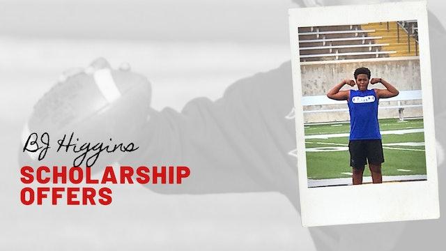 BJ HIGGINS: Scholarship Offer