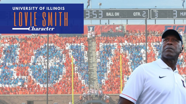 Lovie Smith University of Illinois Head Football Coach /CHARACTER