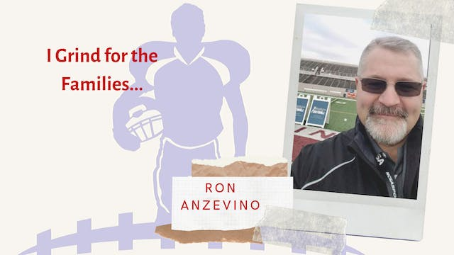 Coach Ron Anzevino I GRIND FOR THE FA...