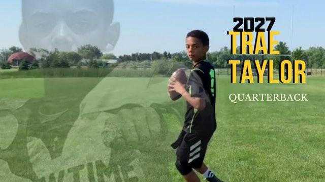 SUPERGRINDER: 2027 QB Trae Taylor