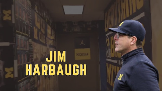 Coach Jim Harbaugh Ready For Camp Season