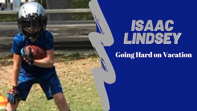 Isaac Lindsey Going Hard On Vacation