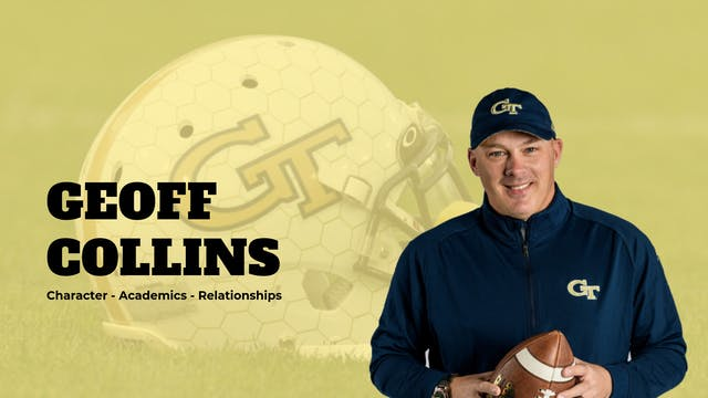 Georgia Tech HD Football Coach Geoff ...