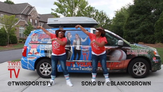 TwinSportsTV  New Video #GitUpChallenge Dance song by Blanco Brown