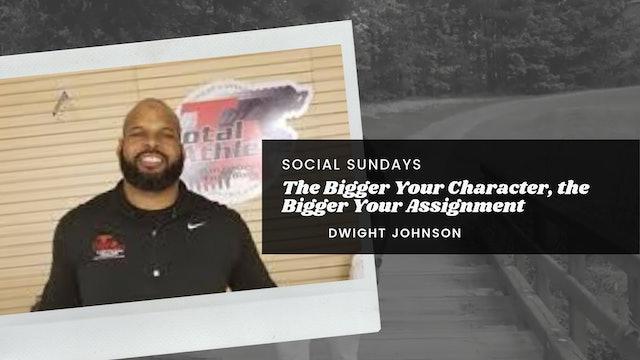 SOCIAL SUNDAY: Dwight Johnson