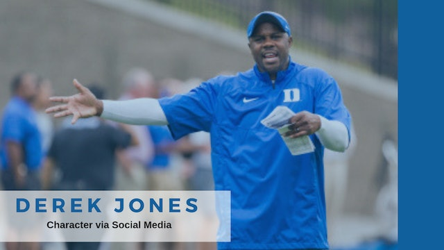 Coach Derek Jones Duke FB- Associate Head Coach / DB Coach /SOCIAL MEDIA