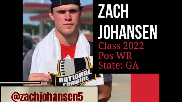 ZACH JOHANSEN: Lighting Up the Camp C...