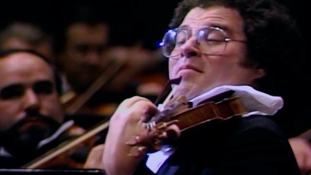Brahms's Violin Concerto with Itzhak ...