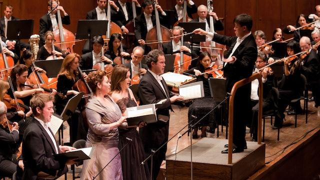Alan Gilbert Conducts Mendelssohn's Elijah