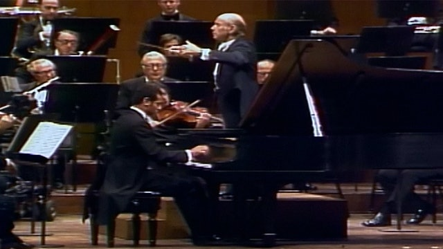 André Watts Performs Brahms