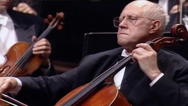 Rostropovich Plays Dvořák