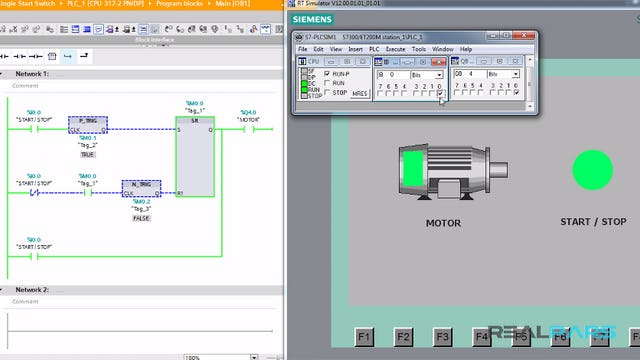 88.Single Start Switch PLC Program _ Part 1
