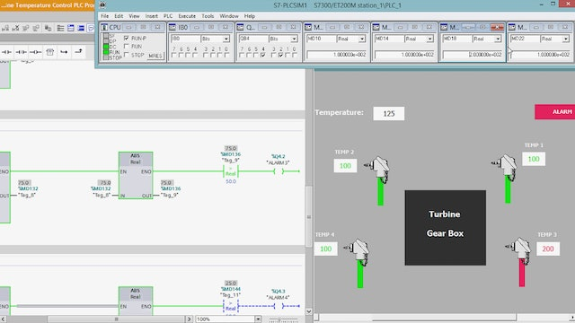 137. Gas Turbine Temperature Control PLC Program - Part 3