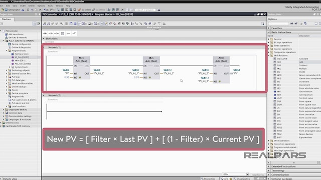 6. Developing a Process Variable Simulation to Test a PID Loop