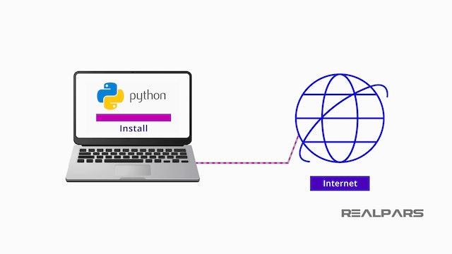3. Downloading Python