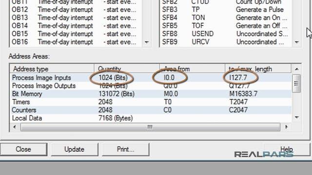 35. PLC Input, Output and Memory Bit ...