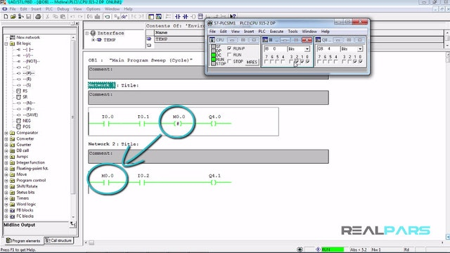 64. Midline  in PLC Programming