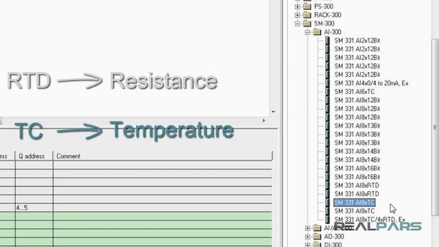 12. PLC Analog Input Module Configura...