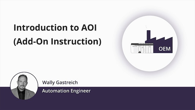 1. Introduction to an AOI (Add-On Instruction) - Trailer