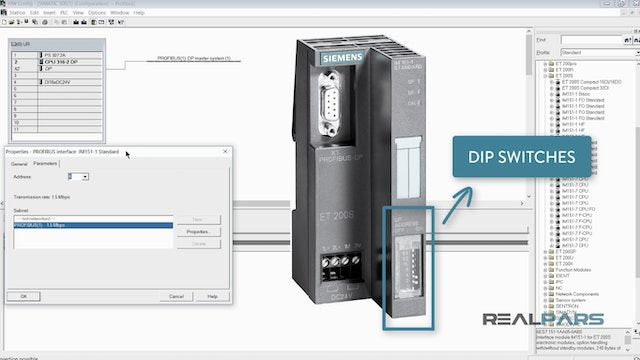 4. Software Setup for Profibus-DP- Part 2