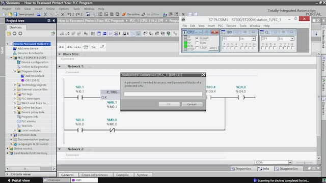 230  How to Upload a Project from a PLC in TIA Portal - How to