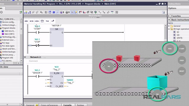 115. Material Handling PLC Program _ Part 2
