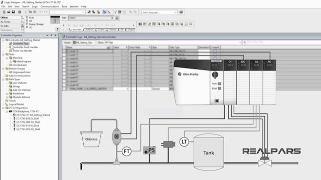 13. Creating Tags and Assigning Addresses in Allen Bradley - Part 2