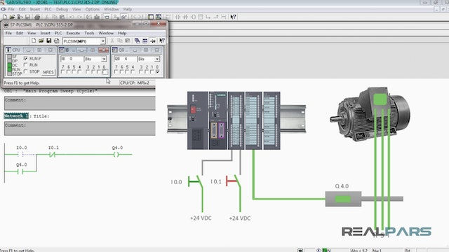 7. How to Use a Normally Open Stop Switch in Your PLC Program?