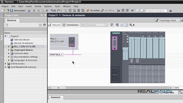 9. Software Setup ProfibusDP (TIA Portal) - Part 1