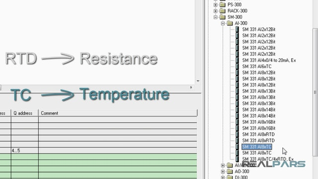 31. PLC Analog Input Module Configuration