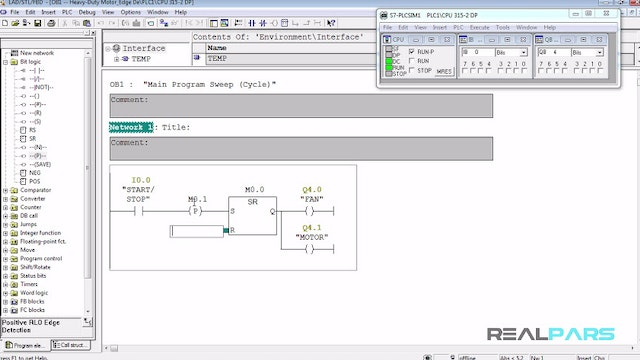61. How to Use a Single Switch Both as Start and Stop Switch in PLC Programming? (Using Edge Detectors)