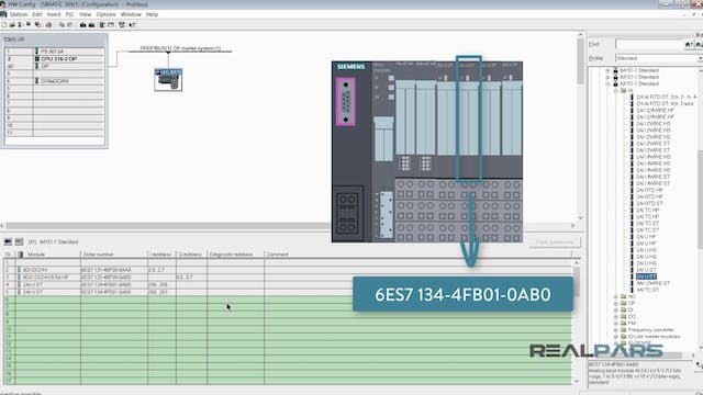 5. Software Setup for Profibus-DP- Pa...