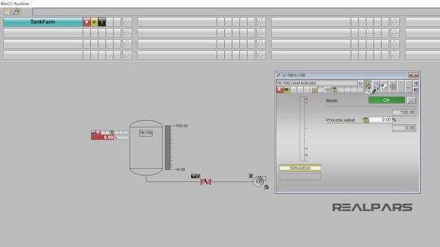 9. WinCC Example Process – Testing th...